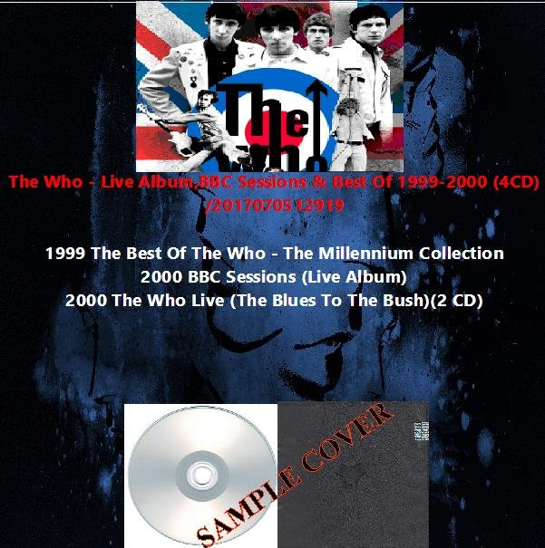 The Who - Live Album,BBC Sessions & Best Of 1999-2000 (4CD)