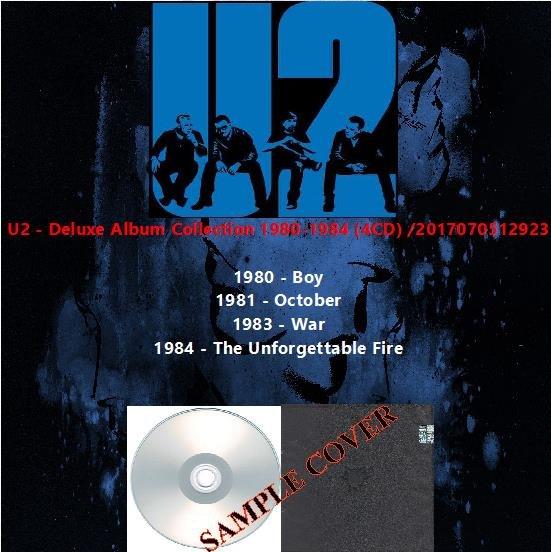 U2 - Deluxe Album Collection 1980-1984 (4CD)