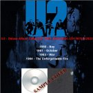 U2 - Deluxe Album Collection 1980-1984 (4CD)