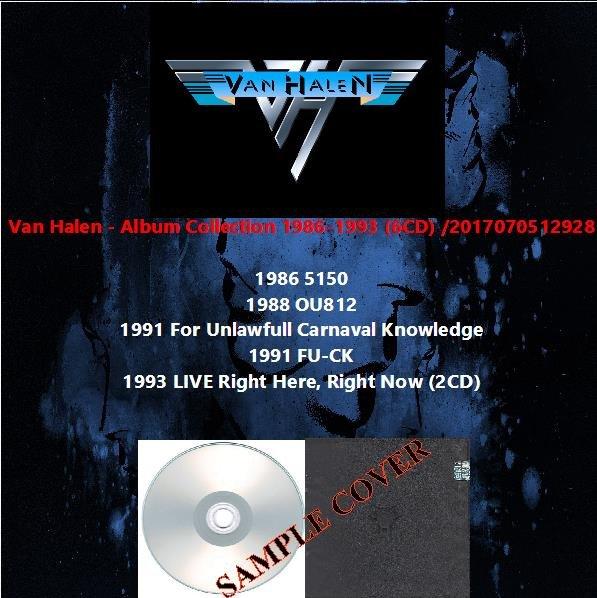 Van Halen - Album Collection 1986-1993 (6CD)