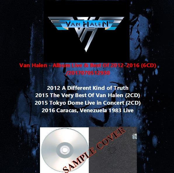 Van Halen - Album Live & Best Of 2012-2016 (6CD)