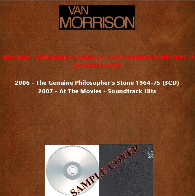 Van Morrison - Philosopher's Stone 64-75 & Soundtrack Hits 2007 (4CD)
