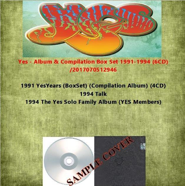 Yes - Album & Compilation Box Set 1991-1994 (6CD)