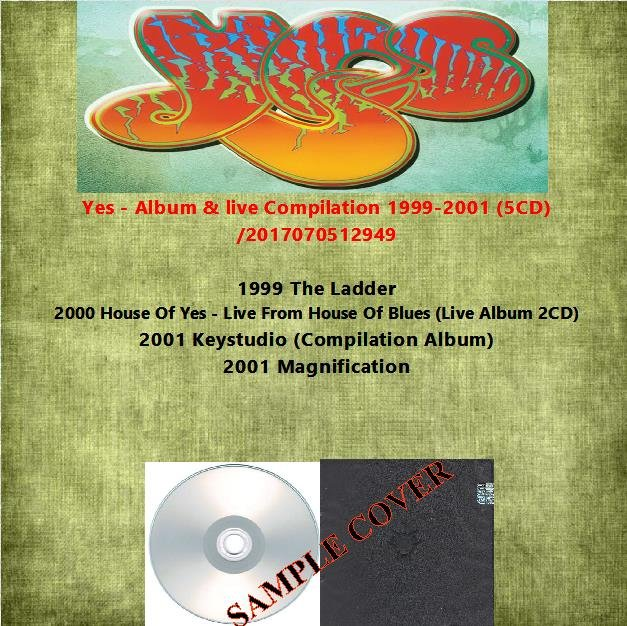 Yes - Album & live Compilation 1999-2001 (5CD)