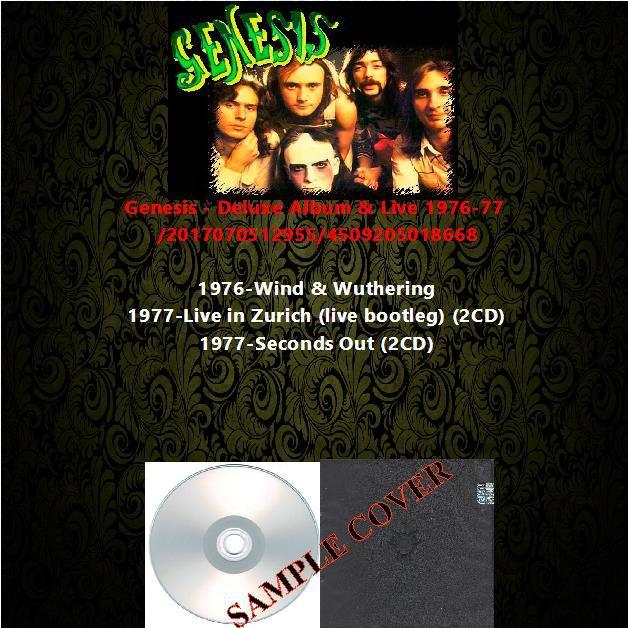 Genesis - Deluxe Album & Live 1976-77 (5CD)