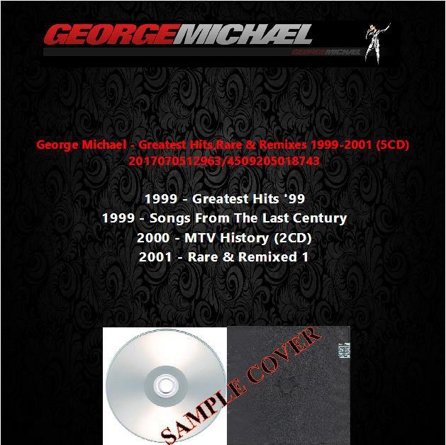 George Michael - Greatest Hits,Rare & Remixes 1999-2001 (5CD)