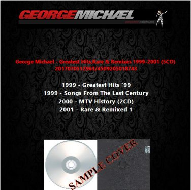George Michael - Greatest Hits,Rare & Remixes 1999-2001 (5CD)