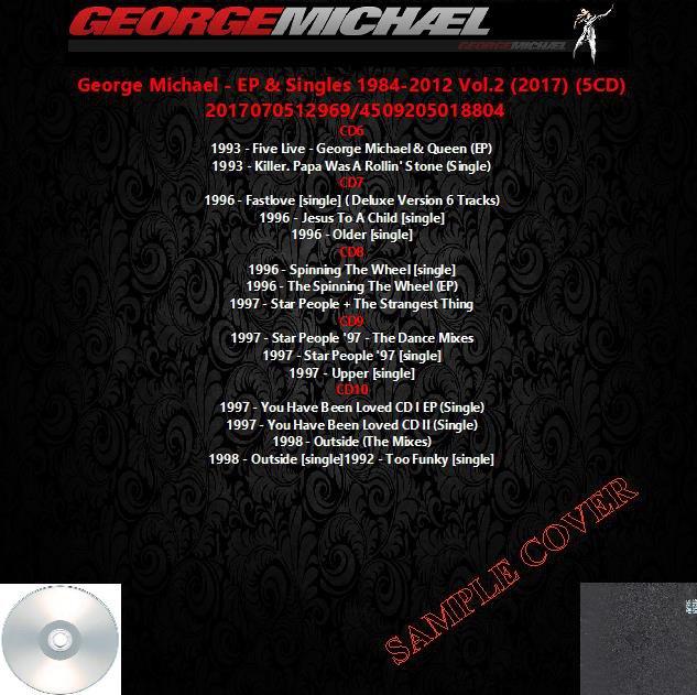 George Michael - EP & Singles 1984-2012 Vol.2 (2017) (5CD)