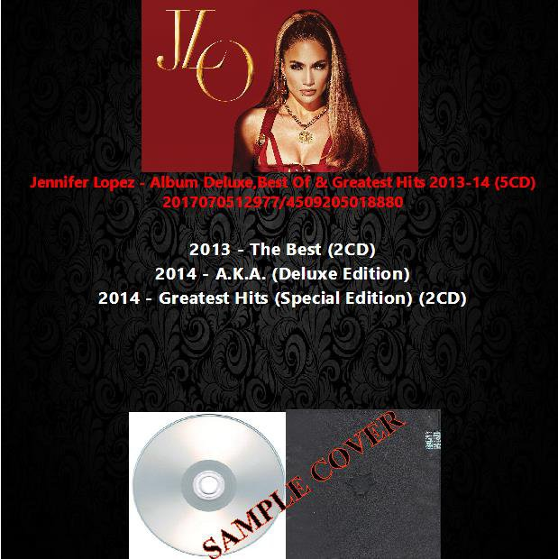 Jennifer Lopez - Album Deluxe,Best Of & Greatest Hits 2013-14 (5CD)