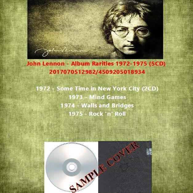 John Lennon - Album Rarities 1972-1975 (5CD)