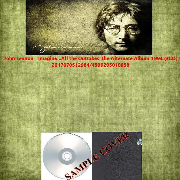 John Lennon - Imagine...All the Outtakes-The Alternate Album 1994 (3CD)