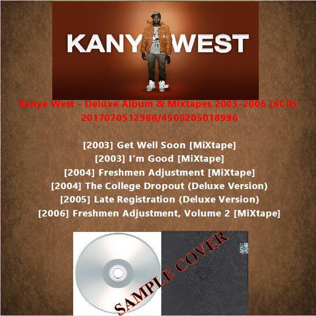Kanye West - Deluxe Album & Mixtapes 2003-2006 (6CD)