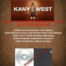 Kanye West - Deluxe Album Live & Mixtape 2006-2007 (5CD)