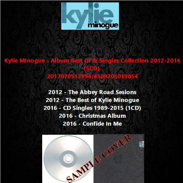 Kylie Minogue - Album Best Of & Singles Collection 2012-2016 (5CD)