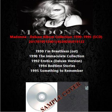 Madonna - Deluxe Album Collection 1990-1995 (5CD)