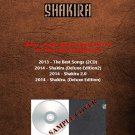 Shakira - Deluxe Album & Best Of 2013-14 (5CD)