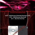 Dj Tiesto - Kaleidoscope [Extended Remixes]+Kiss from the Past 2011 (5CD)
