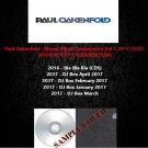 Paul Oakenfold - Mixed Album Compilation Vol.1 2017 (5CD)