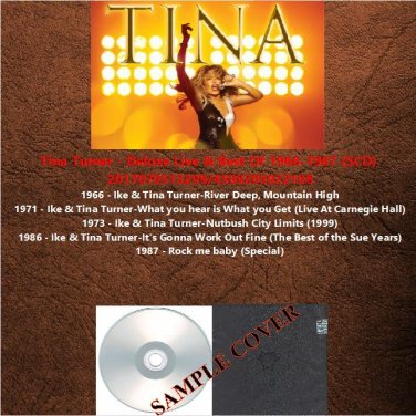 Tina Turner - Deluxe Live & Best Of 1966-1987 (5CD)