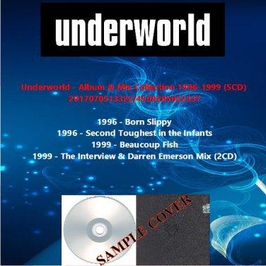 Underworld - Album & Mix Collection 1996-1999 (5CD)