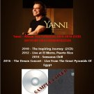 Yanni - Album Live Collection 2010-2016 (5CD)