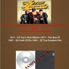 ZZ Top - 1st Album/Best Of/Greatest Hits/Six Pack 1971-1992 (6CD)