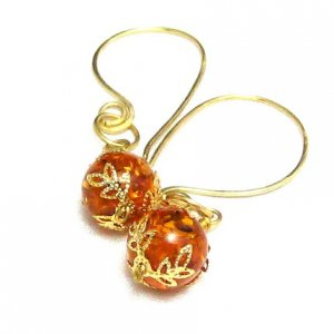 Amber Delight Earrings