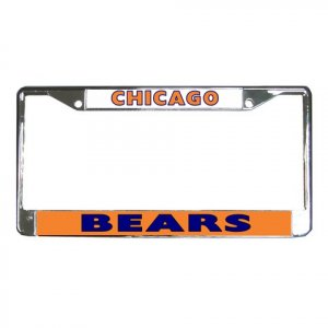 CHICAGO BEARS License Plate Frame Vehicle Heavy Duty Metal 18586550
