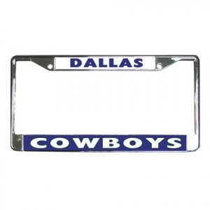 DALLAS COWBOYS License Plate Frame Vehicle Heavy Duty Metal 18586563