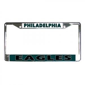 PHILADELPHIA EAGLES License Plate Frame Vehicle Heavy Duty Metal 18586569