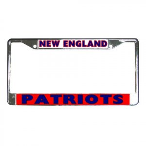 NEW ENGLAND PATRIOTS License Plate Frame Vehicle Heavy Duty Metal 18592164