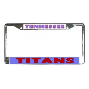 TENNESEE TITANS License Plate Frame Vehicle Heavy Duty Metal 18593134