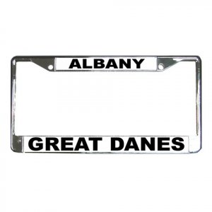 GREAT DANE DOG License Plate Frame Vehicle Heavy Duty Metal 12237349