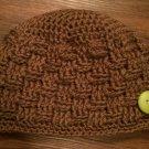 Basket Weave Beanie: 0-6 months, 6-12 months, 12-18 months