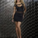 Hot Sale Sexy Summer Fashion Women Elegance Bodycon Scuba Mini Dress Bodycon Dress W84518
