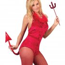 Instant Halloween Fancy Dress Lady Sexy Red Devil Adult Costume HW009
