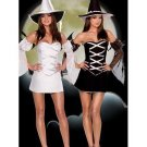 Sexy cosplay sequin Costume Halloween White Witch Costume W8285
