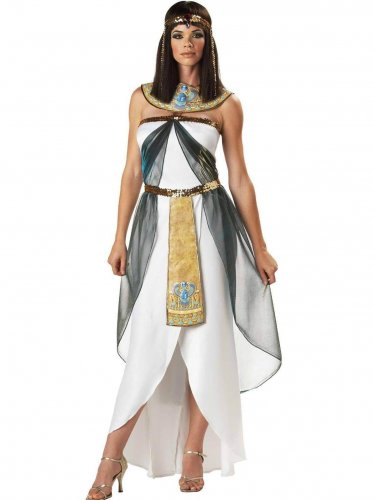 Fashion Female Costume Adult Cleopatra Queen Women Fancy Dress Ladies Halloween Costumes W8897