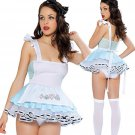 Cheap Classic French Maid Costume Adorable Look Out Alice Costume W208174