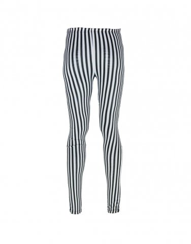 Women  Sexy Striped Print Leggings Ankle-Length Pants Free shipping K251