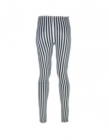 Women  Sexy Striped Print Leggings Ankle-Length Pants Free shipping K251