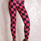 30% Off Sexy Plaid fitness sport Racing Checkered Flag Leggings WL008