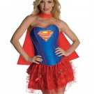 Carnival Super Hero Uniform Adult DC comics costume Corset Super girl Costume W2084315