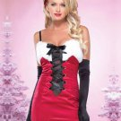 Fashion Lace Up Spaghetti Straps Christmas Dress X-mas Outfit W208522A