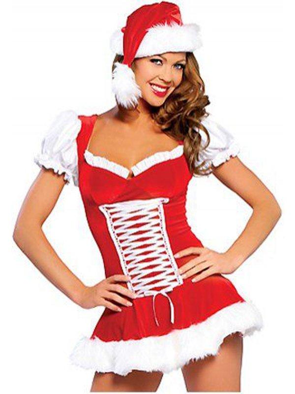 40% Saving Santa Gift Beautiful Fancy Dress Candy Girl Christmas Costume W204081