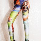Hot Sale Spandex Fashion Digital Printing Tiger Sexy Leggings Pants WL029