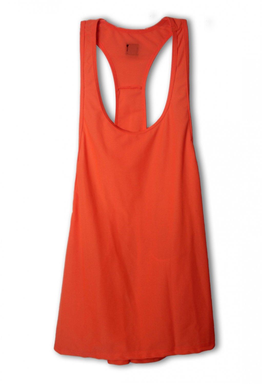 Orange Color Hot Sale S-XL Size Scoop Neckline New Fashion Sexy Women Tank Tops W35020D