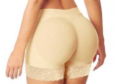 Floral Lace Trim S-XXL Size Apricot Color Hot Sale Butt Lifter For Women W35063A