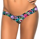 Fashion Flower Pattern Print New S-XL Size Women Swimming Trunks W3537O