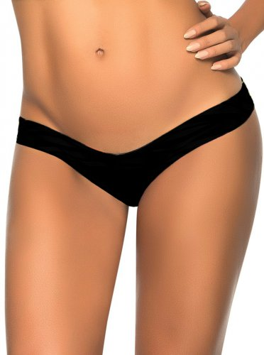Sexy Fashion V Shape Bottom New Black S-XL Size Women Swimming Trunks W3537P